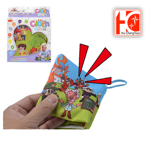 hot sale baby learning toy kids fabric book with sound