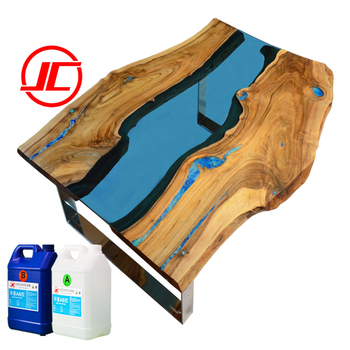 Wood Resin Table Crystal Clear Bar Table Top Epoxy Resin
