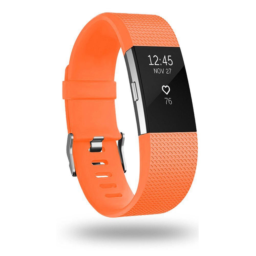 Tschick For Fitbit Charge 2 Bands, Classic Replacement Sport Accessory Strap Bands for Fitbit Charge 2 Small Large фото