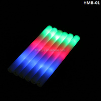 48cm 3 Modes Light Up Foam Cheering Stick Baton with RGB LEDs