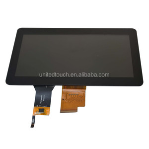 7 inch 800x480 LCD panel with capacitive touch screen I2C connect, 7 inch digitizer LCD touch screen