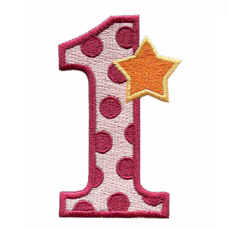 Embroidery Number Patches, Embroidery Number Patches Suppliers and  Manufacturers at Alibaba.com