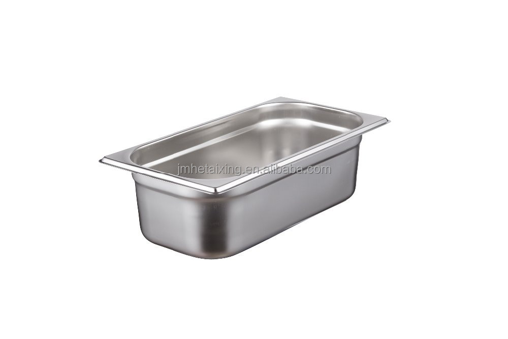 Good Quality 1/3 Size Gastronorm Food Pan for Commercial Restaurant Kitchens (100mm depth)
