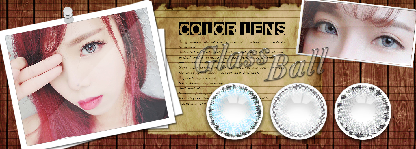 Realcon Exclusive Glass Ball Design Natural Looking Contact Lens