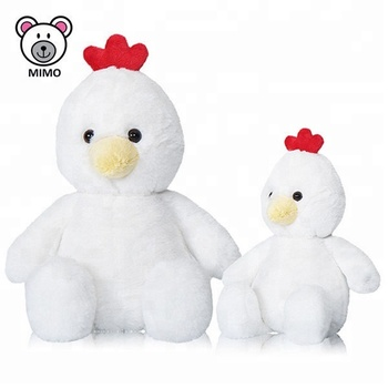 2019 New Easter Day Gift Plush White Chick Toy Promotional Custom