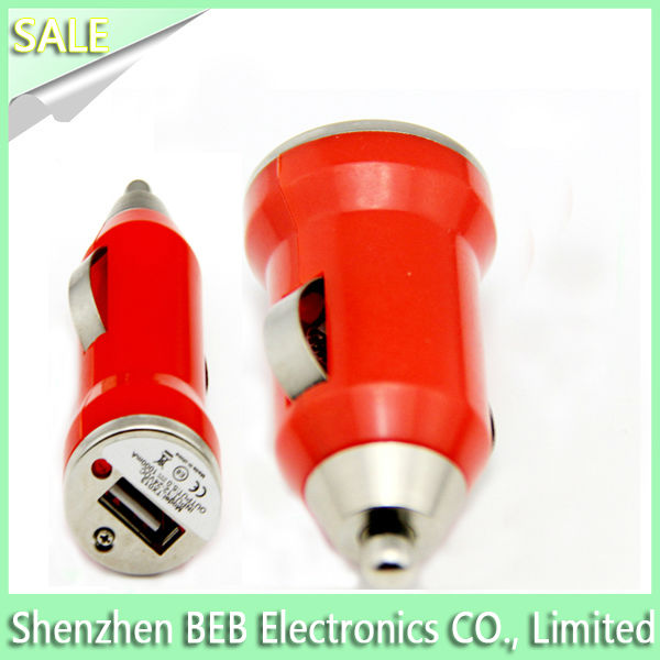Fast delivery 5V 1A car charger plug from qualified manufacture