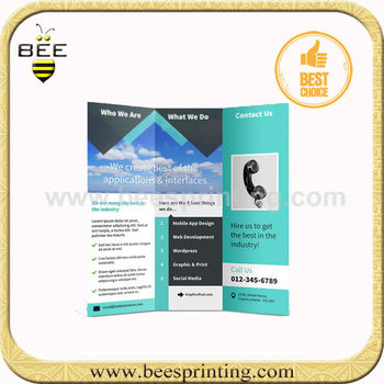 Brochure Templatesbrochure Printing Machinedigital Brochure Buy