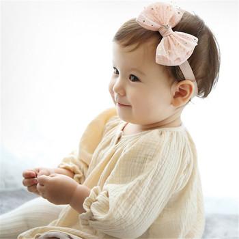 Nieuwe Model Van Hoge Kwaliteit Baby Haar Boog Baby Bloem Meisjes