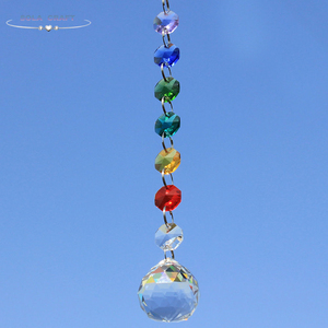 Colorful Chandelier Crystal Ball Prisms Pendant, Chandelier Decor Hanging Prism Ornaments,Chandelier Crystals Ball window Prisms