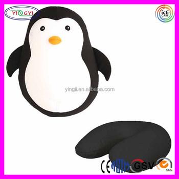 E650 Zipper Flip Reise Kissen Pinguin Verwandeln Zu U Förmige Kissen Neck Zurück Pinguin Kissen Buy Pinguin Kissen,Kissen Neck Zurück Pinguin
