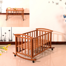 High quality multifunctional baby doll cribs and beds bamboo baby crib bed