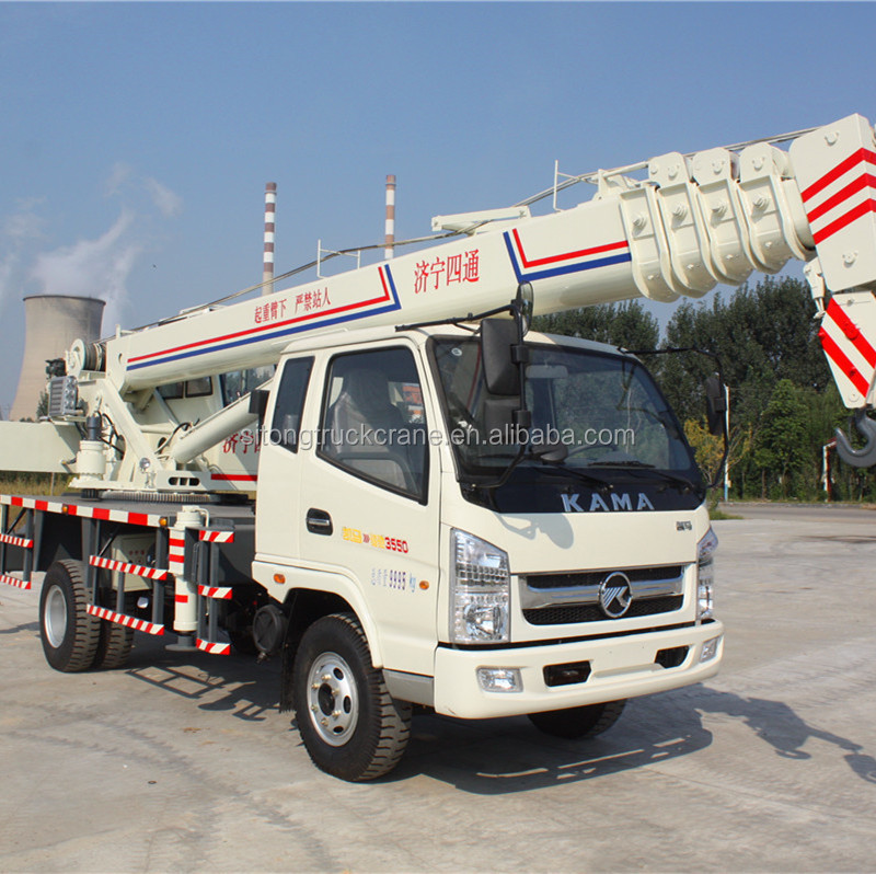 STSQ8B Mini Lift Telescopic Truck Mini Folding Crane Jib