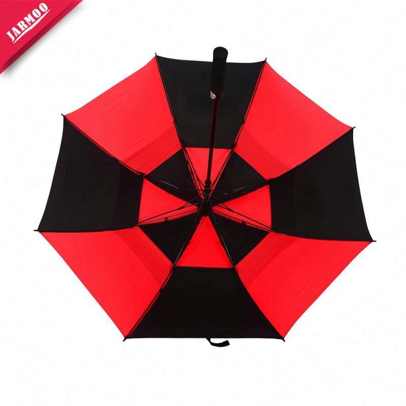 Nylon Golf Umbrella Shenzhen Top Quality 23 Inch Adult Double Canopy Umbrella