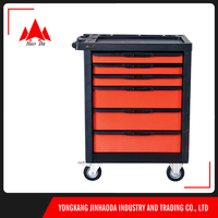 custom certificated powder coating hand tool carts wheeled chest manufacture from china supplier
