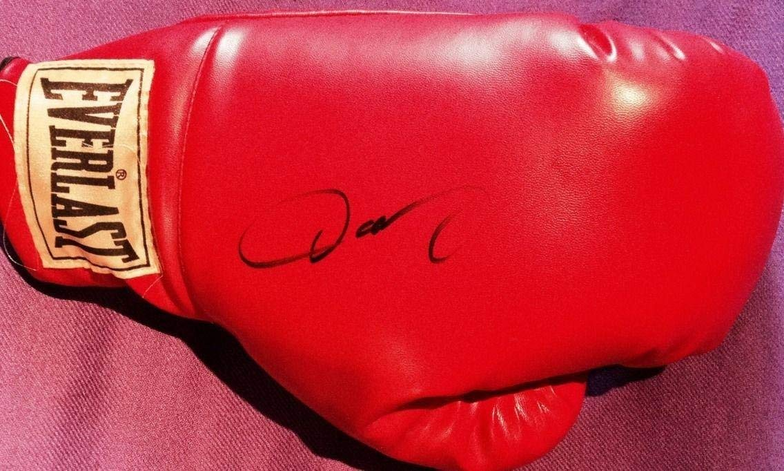 fee25b05f512 Get Quotations · Oscar De La Hoya Signed Autograph Rare Official Full Size  Everlast Boxing Glove - Autographed Boxing
