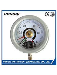 "50mm(2"") cng plastic glass surface normal gas pressure gauge"