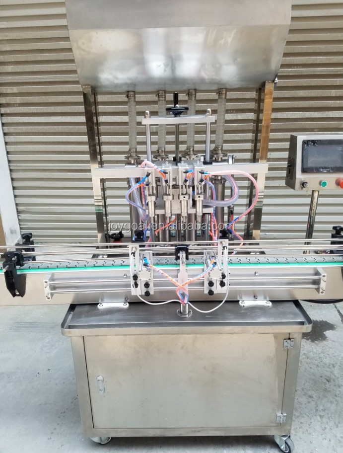 Full-Automatic glass bottle filling and capping machine