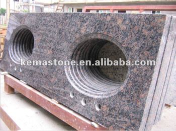 tan braun granit arbeitsplatten furnier stein buy product on. Black Bedroom Furniture Sets. Home Design Ideas