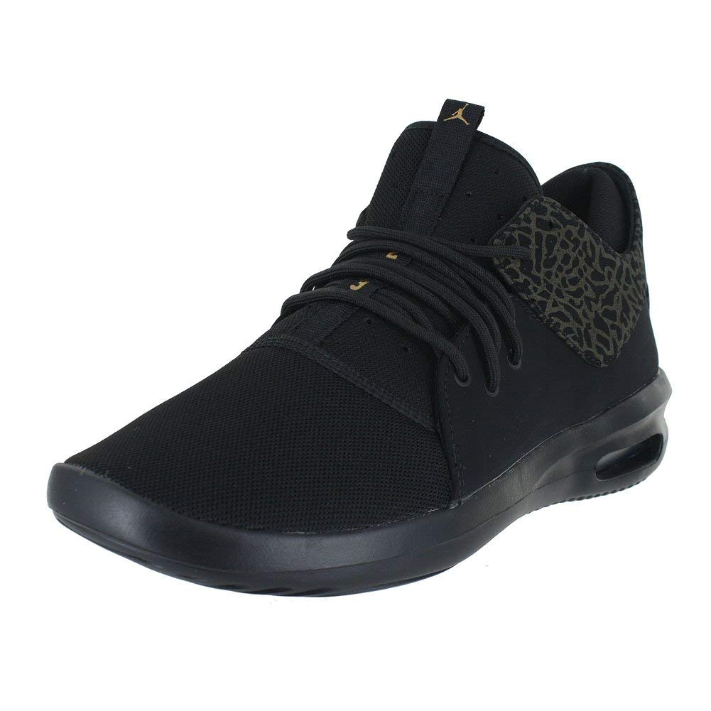 acaee79db712 Get Quotations · Jordan Mens AIR First Class Black Metallic Gold White Size  8.5