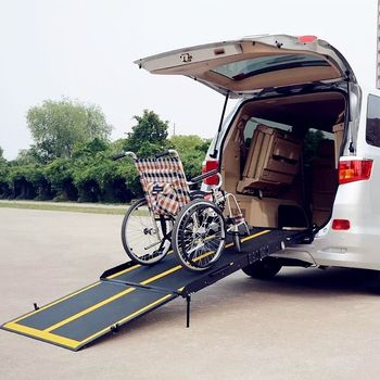 BMWR-301 Manually Operated Wheelchair Ramps for van for the disabled
