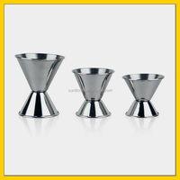 50ml Hot Sell Double Sides Stainless Steel Shot Glass