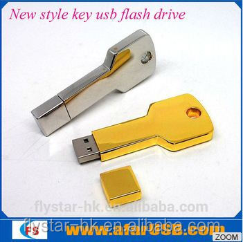 4GB 8GB 32GB 64gb leather usb flash pen key usb 128gb free logo Flysta rusb flash disk