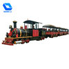 Factory sale kids mini track train rides kiddie games China wooden train