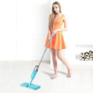 Wholesaler Easy Clever Quick Scrub Double Side Spray Mop