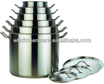 Commercial Quality Large 555 stainless steel large stock pot