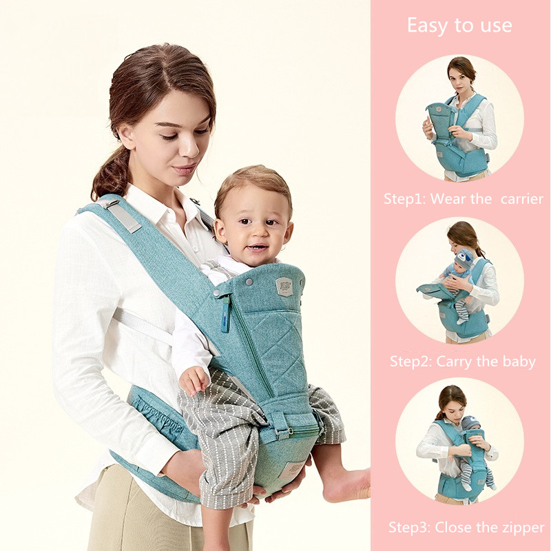 Oem Baby Supplies 360 Ergonomic Baby Carrier With Hip Seat
