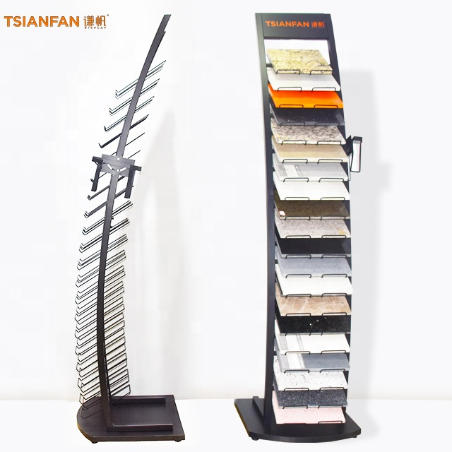 Free $1000 cash coupon ceramic tile display metal display <strong>stand</strong> rack quartz stone tool holder storage rack shelf
