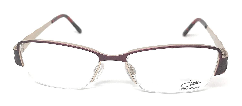 Cazal Eyeglasses RX 1076 003 Burgundy Titanium 53-16-135