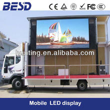 BESD mobile truck LED display screen P16mm