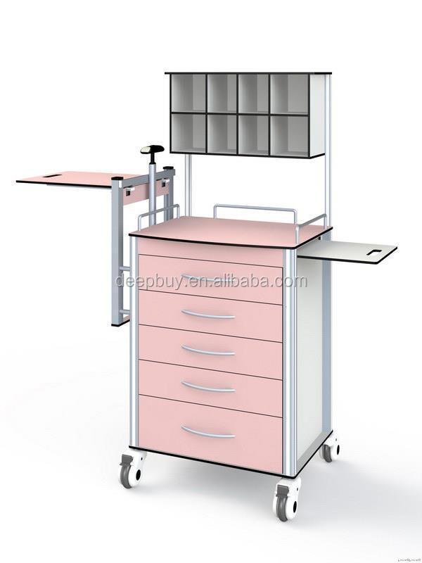Factory promotional nursing trolley sterile items hospital