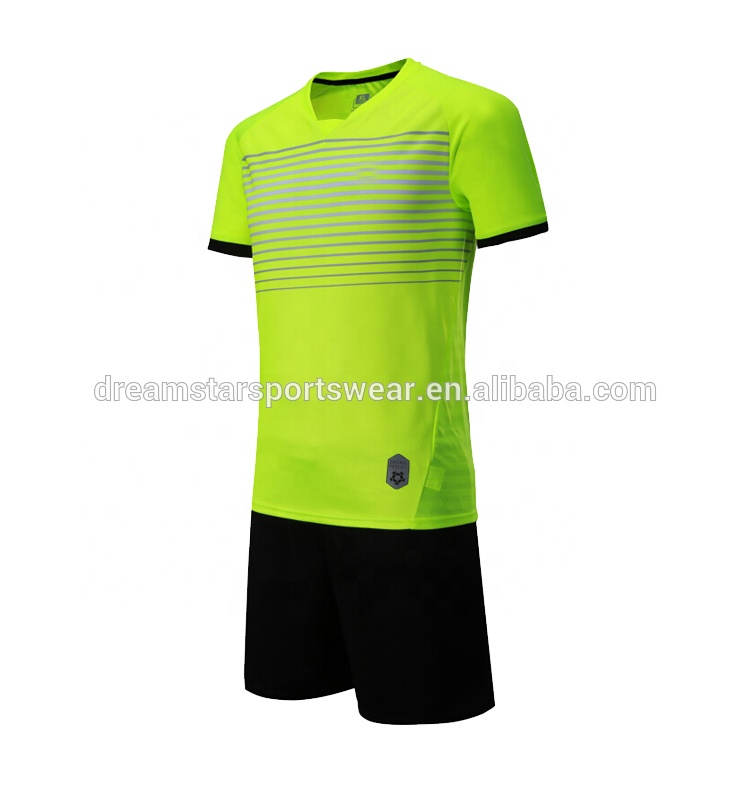 Training Suit China Maker Soccer Uniform , Football Jersey, Blue color