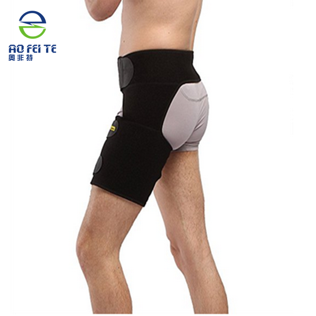 Top 1 Adjustable Thigh Compression Wrap for Injury Hamstring Support for Sciatic Nerve Leg Pain Groin Support For Sports