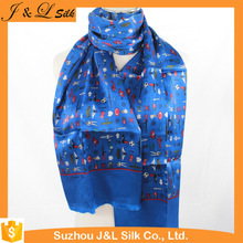 Hot-selling Custom Design Digital Silk Scarf Printing