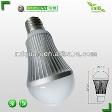 Extrusion aluminum LED lamp heatsink for bulbs light