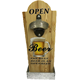 Open Bottle Here Wall Hang Fashion Beer Opener Home Bar Man Cave Wall Mounted Bottle Opener
