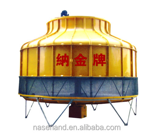Specialized manufacturers supply round counter flow cooling tower