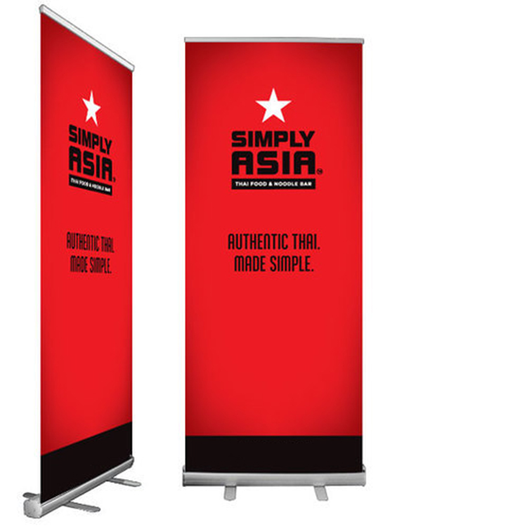 Nach 80x200 roll up display banner stand a3 pull up banner drucker für shop markt