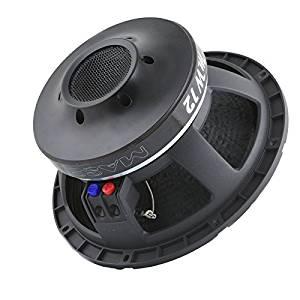 "Massive Audio MW 12 12"" Single 8 ohm MW Series Car Audio Subwoofer"