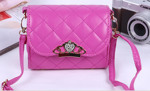 Kids Sling Bag For Girls Pu With Crown - Buy Kids Sling Bag,Sling ...