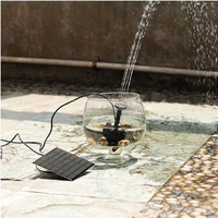 Mini Garden Solar Water Fountain Pump Solar Kits For Africa