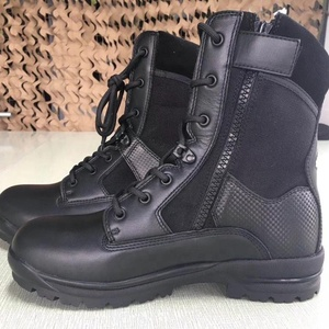 Army real leather shoes in military standard for male cheap