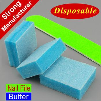 Manicure Pedicure Disposable Nail File Mini Buffer