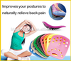 Backjoy Posture Health Product with Back Pain Relief and Pain Relief Patches PU material