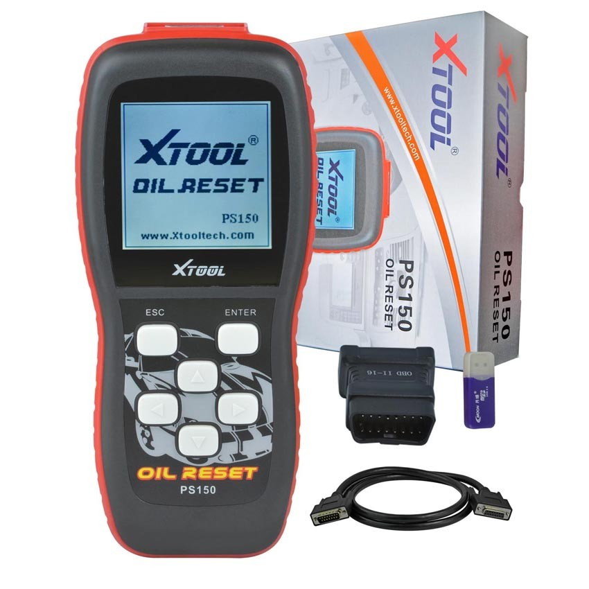 2016 Obdii Ps150 Oil Reset Tool Reset Oil Service Light
