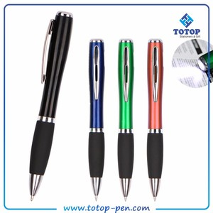 promotional led light pen with stylus for computer