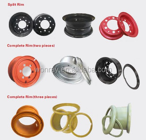 forklift rim and Construction wheel rims for Medium Large Construction Wheels